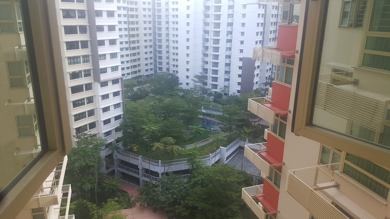167A Punggol East 4 Room for sale Living Room View