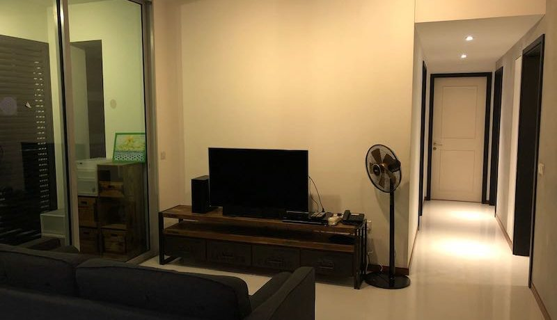 3 Bedroom for rent at Kovan Residences -Living Room