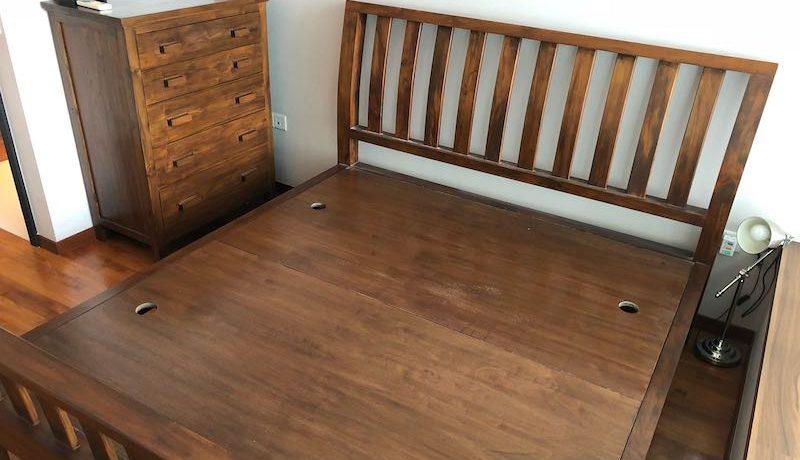 3 Bedroom for rent at Kovan Residences - Master Bed frame