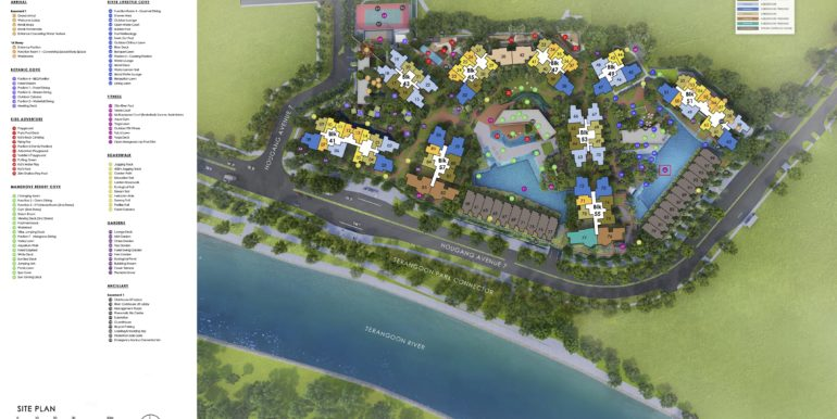 Riverfront Residences Facility Plan