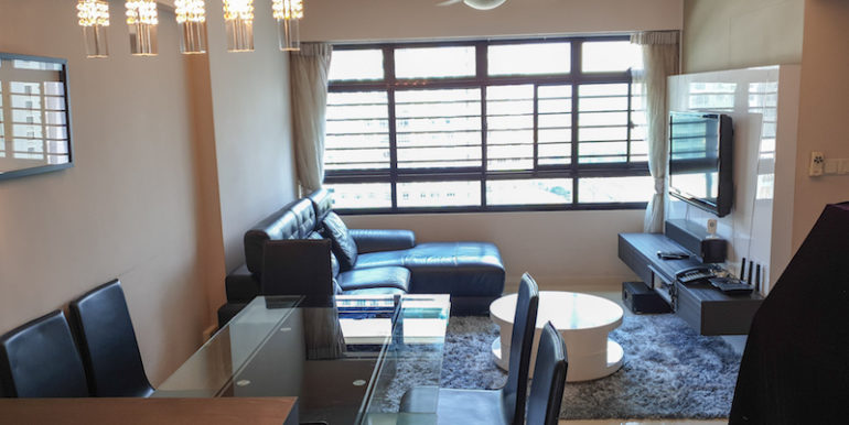441D Fernvale Road 4A HDB For Sale Living and Dining Room