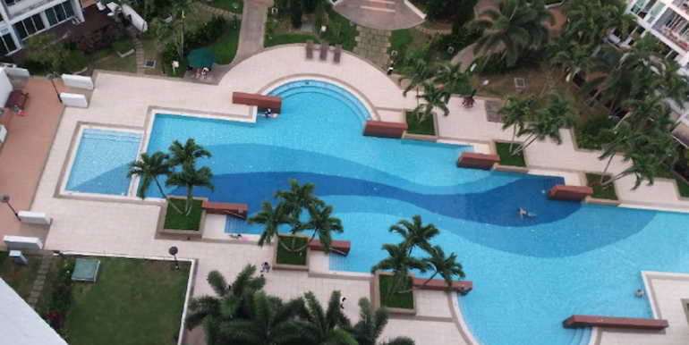 Compass Heights Penthouse For Sale Pool View