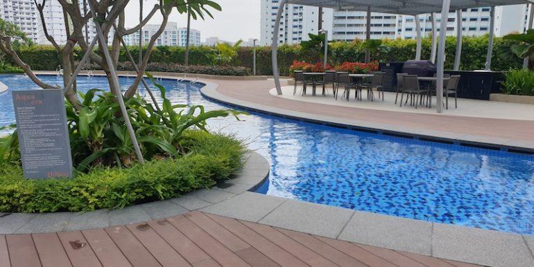 Hillion Residences 1 Bed for sale pool 3