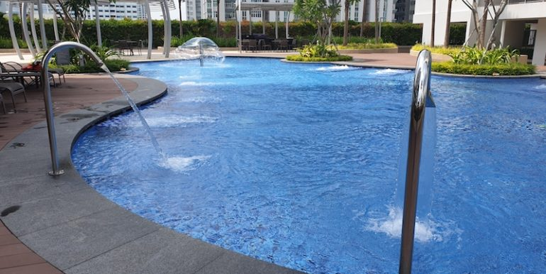 Hillion Residences 1 Bed for sale pool