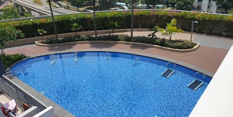 Hillion Residences 1 Bed for sale pool view 2