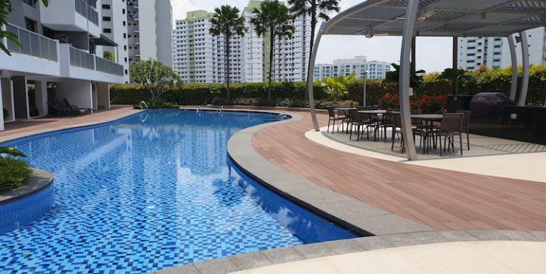 Hillion Residences 1 Bed for sale pool with BBQ