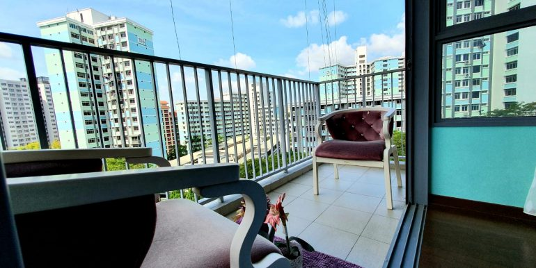 138D Yuan Ching Road DBSS 5rm for sale by Steven Chia - Balcony 2